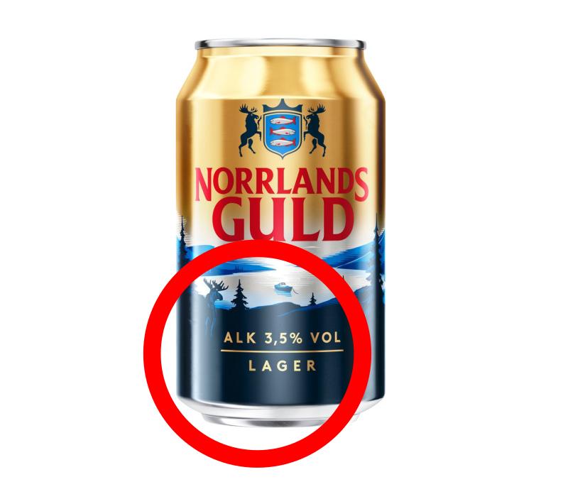 Hur mycket starksprit (40 %) motsvarar 100 cl folköl med 3,5 volymprocent alkohol?